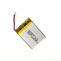 Rechargeable 423040 3.7V 530mah li polymer battery with KC and IEC62133 certificates