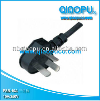 CCC 3 pins power cord/chinese power cable/ccc extension cord