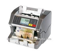 Banknote discriminator with Full-size CIS