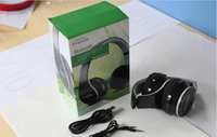 Portable Wireless V4.0 bluetooth headphone Noise reduction folding headset BT513 With Microphone For Mobile phone/Sport/Computer