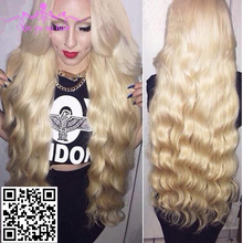Popular products human hair full lace wig top selling #613 color human virgin hair wigs wholesale price brazilian/peruvian hair