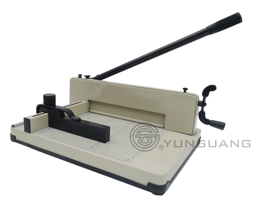 YG 858 manual paper trimmer A3 size paper cutting machine price