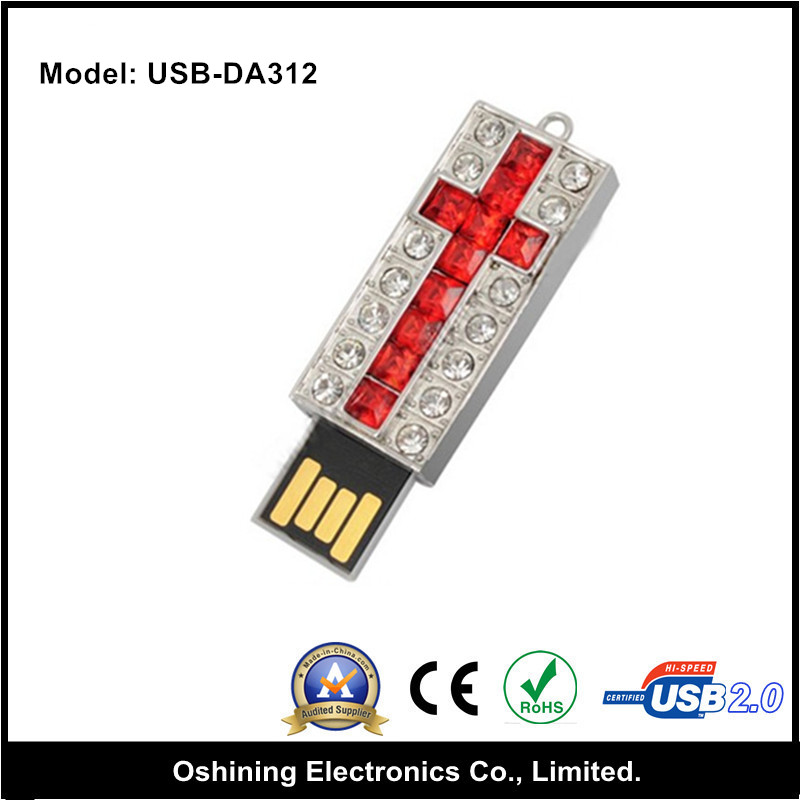New electronic gadgets 2015,jewelry usb flash drive usb 2.0(USB-DA312)