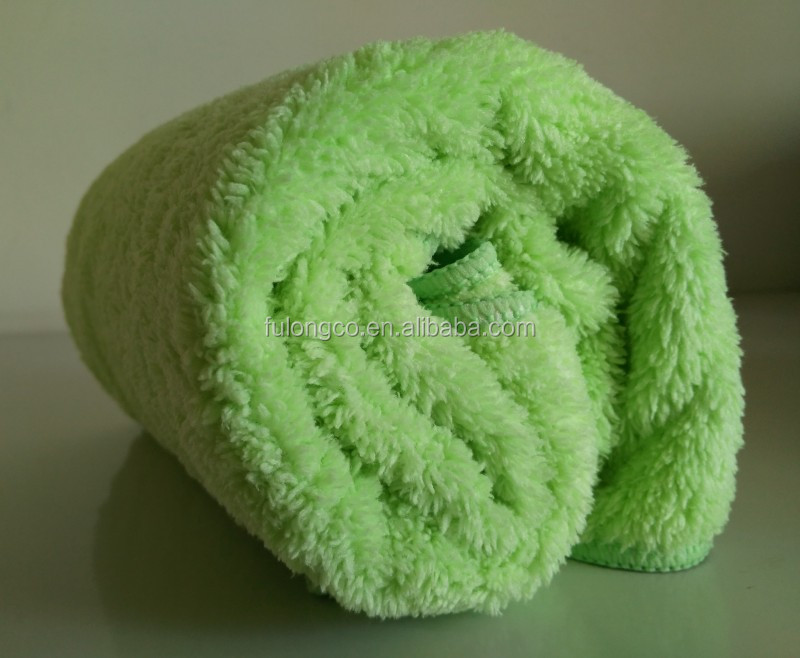 best selling super water absorbing and quick dry microfiber hair towel.