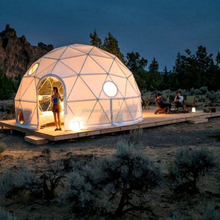 Cheap Winter Garden Transparent Geodesic Dome House For Sale