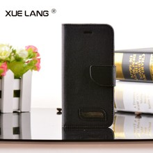 China Manufacturer Wholesale Book Style Stand Leather Wallet Flip Case for Huawei Ascend P7 Mini