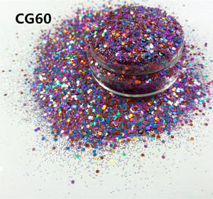 PET Chunky glitter,purple glitter for wholesales