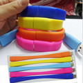 100% real capacity Silicone Bracelet Wrist Band USB Flash Drive Custom logo