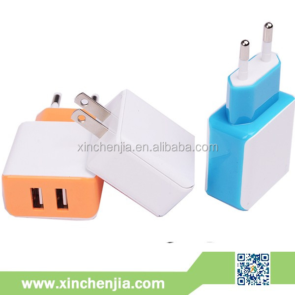 5V travel charger 1A 2A universal mobile charger cable parts