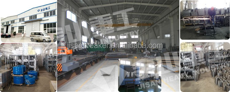 20 ton excavator hydraulic steel  shear for PC200 SK210 excavator