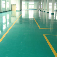 Easy maintenance crush resistant acid resistant epoxy resin floor paint