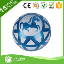 blue custom sticker inflatable jump hop ball,custom design bouncer hop ball outdoor ball,OEM outdoor ball toys