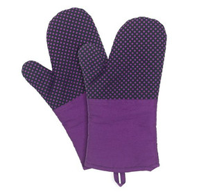 Kitchen Gloves Grill BBQ Baking Cooking Glove Oven Mitts Heat Resistant