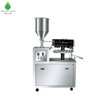 automatic aluminum plastic bottle tube filling and sealing machine