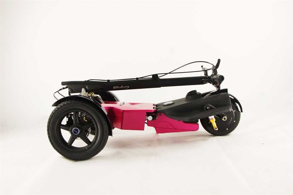 Three wheel scooter, new product tricycle, big power yes fold three wheel scooter with seats