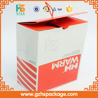Popular design slide packaging electronic box woth handle