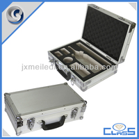 MLDGJ467 Superior Quality Durable Silver Portable Hard Aluminiun Tool Box Wine Case For Carrying