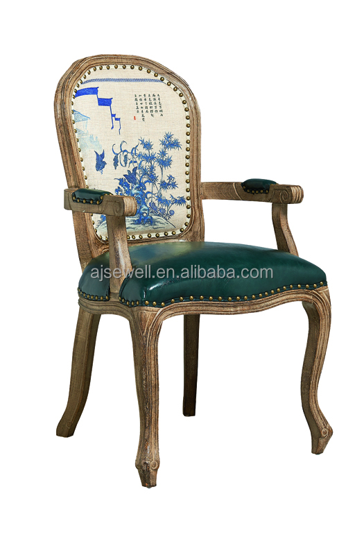 French style design cheap wooden armchair, antique baroque armchair