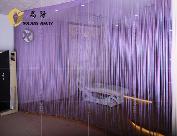 modern window polyester decorative string curtain
