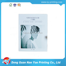 High quality bulk postcards full color card printing service