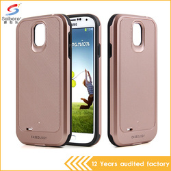 New arrival wholesale pc tpu phone case for Samsung S4