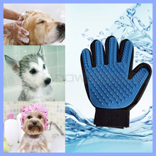 Dog Cat Brush Glove Mitt Deshedding Glove for Pet Grooming Massage Bathing Brush Comb
