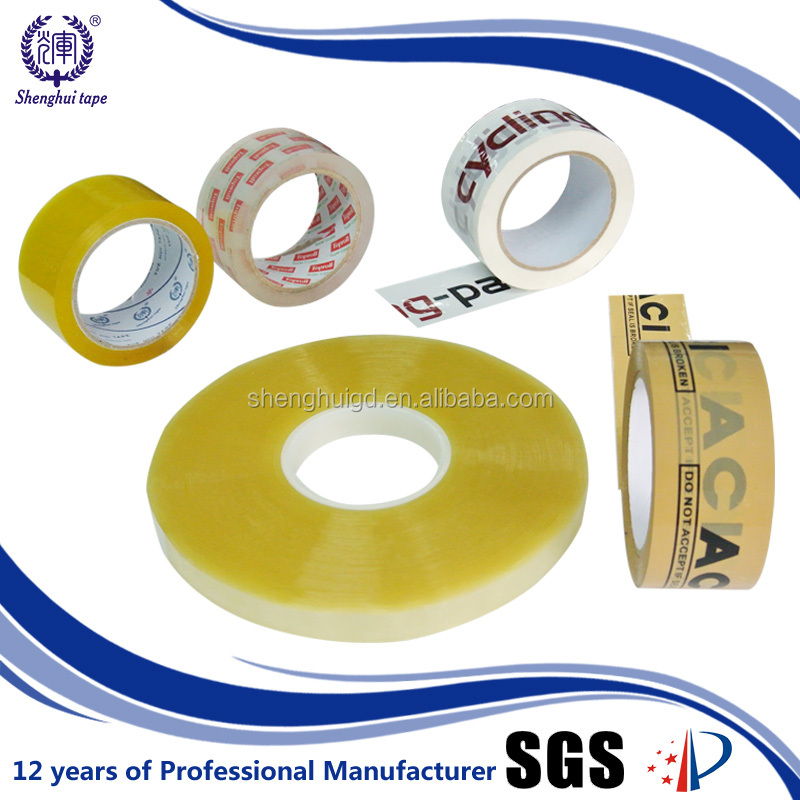 Oem Cello Protective Flexibility 100M Bopp Adhesive Tape