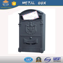 Modern mailer box Outdoor Postbox Steel Letterbox security safe box letters box calzone box