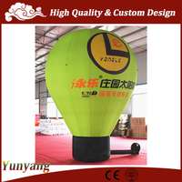 Giant inflatable light bulb, inflatable ground balloon