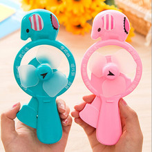 Portable Elephant Cartoon Cute Mini Cool Hand Pressure Fans Baby Children Kids Gift Toy CA1424
