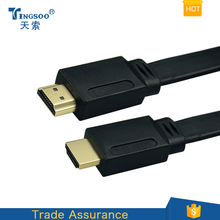 hdmi cable,3m,flat cable CCS,1.4V support 3D,tv cable