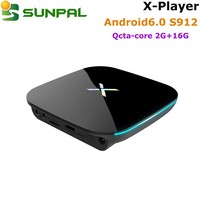 x player cheapest price android satellite tv box smart tv box with india channel iptv android 6.0