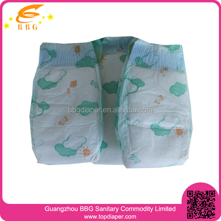 Newly Style Breathable Cloth Like Baby Diapers Turkey