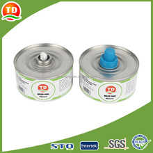 High quality wick fuel long burning chafing fuel
