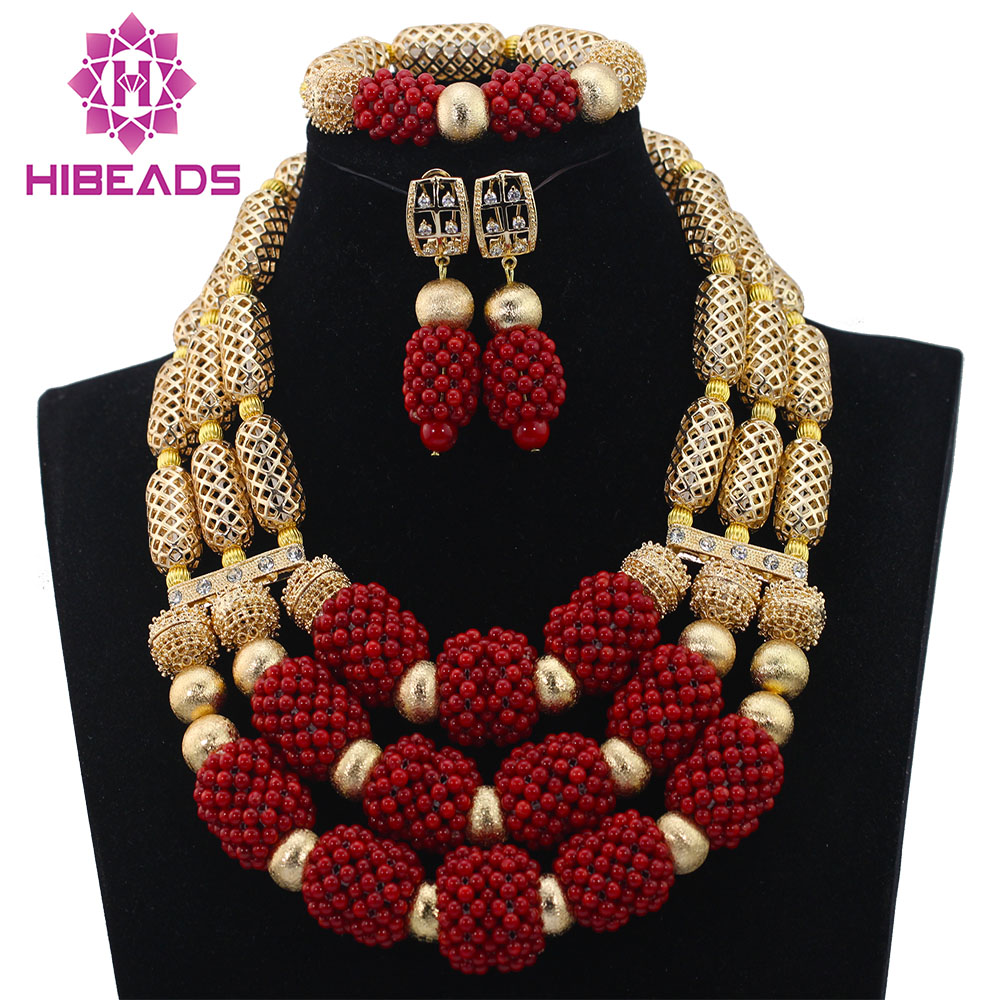 Best-selling and Most Popular crystal beads necklace jewelry set ...