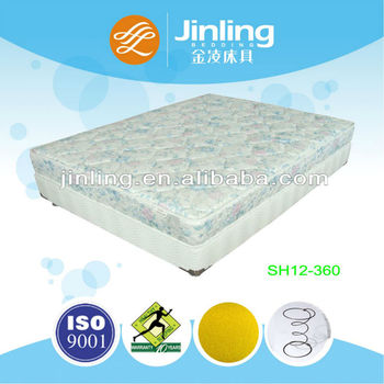 2013 Hot sale bonnell spring mattress with soft foam