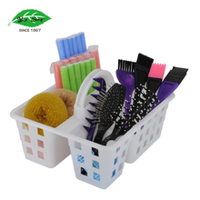 Practical shower or Sundries plastic case storage caddy with handle