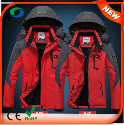 2017 Wholesale Windproof Softshell Men Cheap Winter jacket