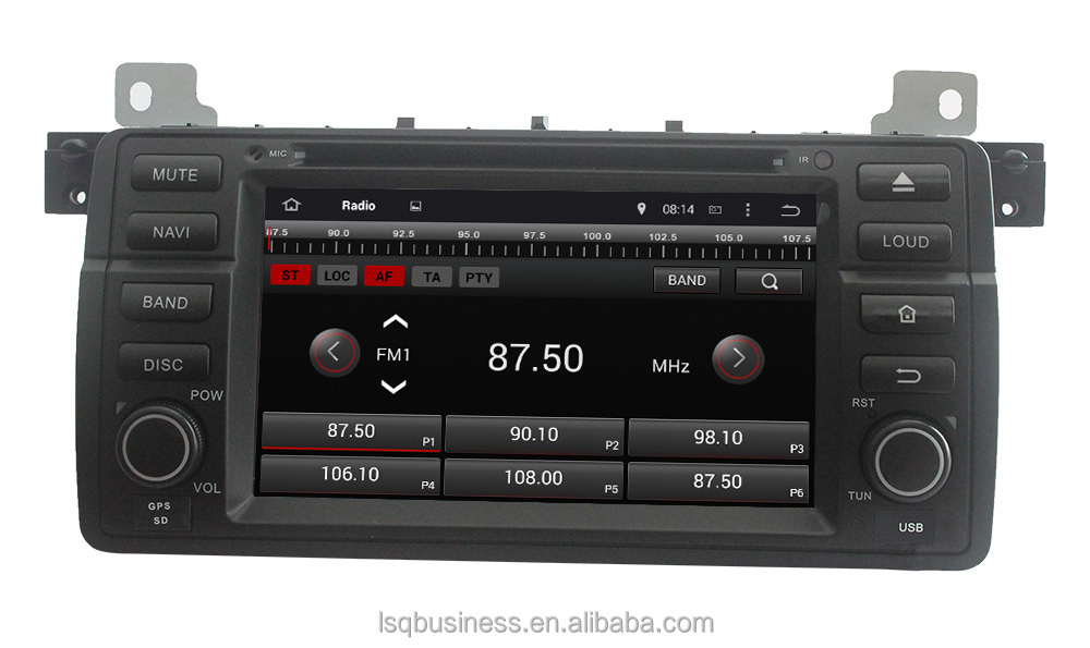 In dash android multimedia car DVD player with Navigation for BMW E46 (1998-2005)