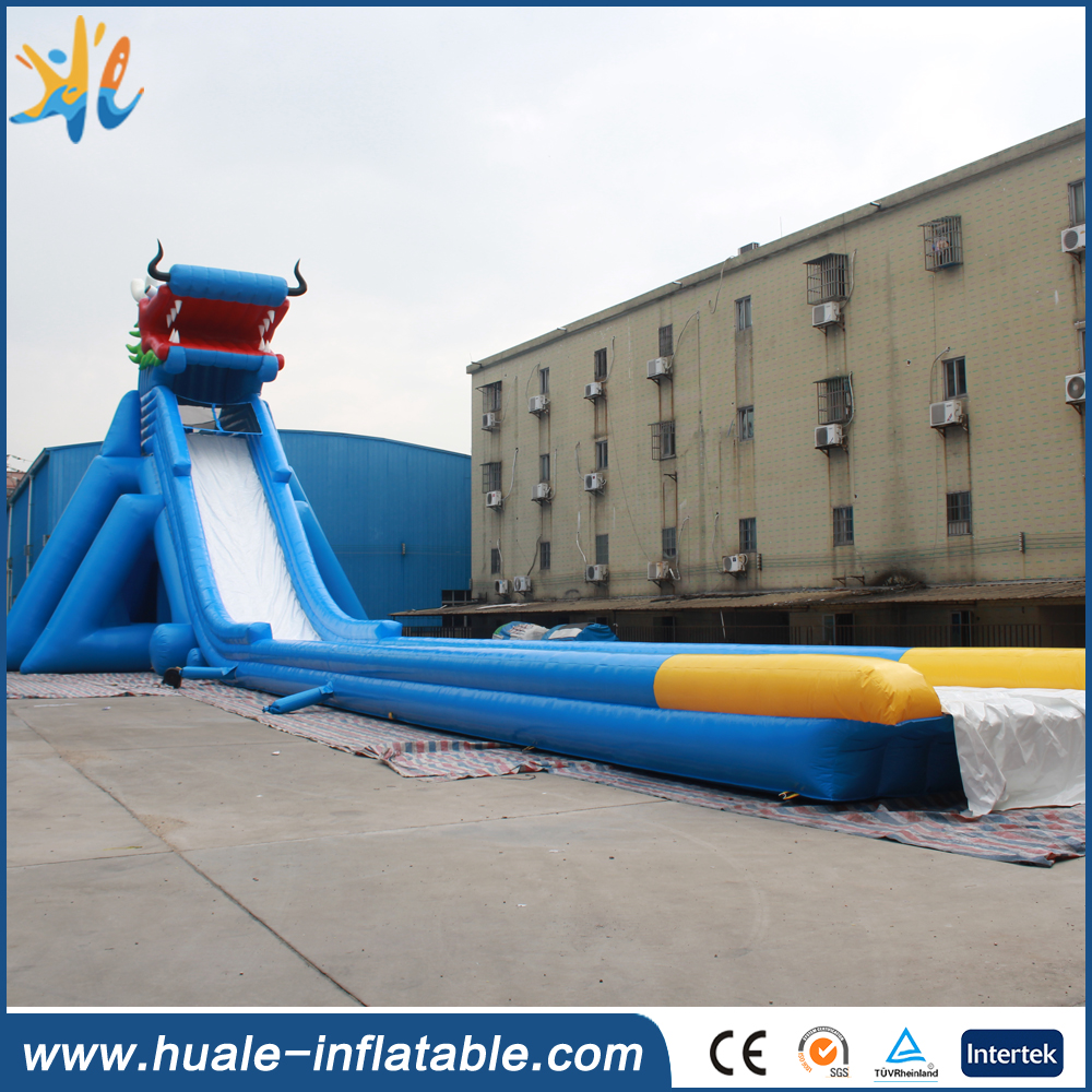 Used Giant Inflatable Water Slide for Sale