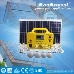 EverExceed 12v homage ups dealer in pakistan Solar Home System for home and outside