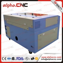 thunder laser thick wood plate die board mdf laser cutting machine