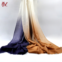Chinese Supplier Winter Men Long Solid Color Thick 100% Cashmere Scarf