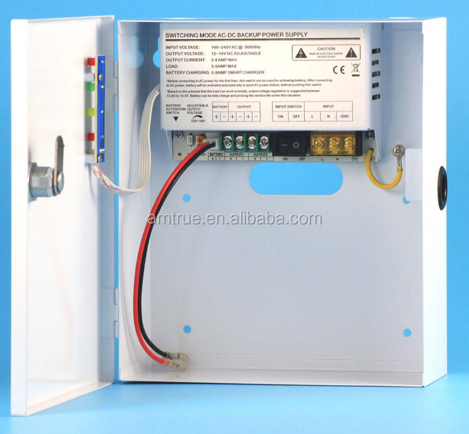 High frequency 12v 5a 60w electric dc switching power supply