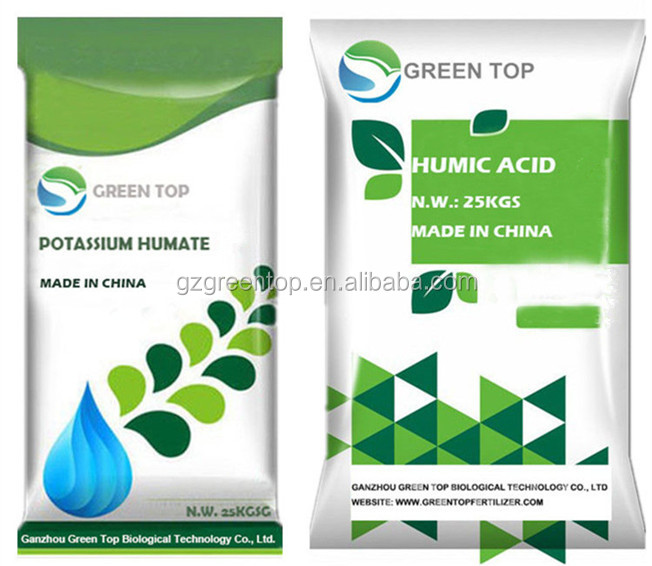 Organic humus fertilizer humic acid from leonardite