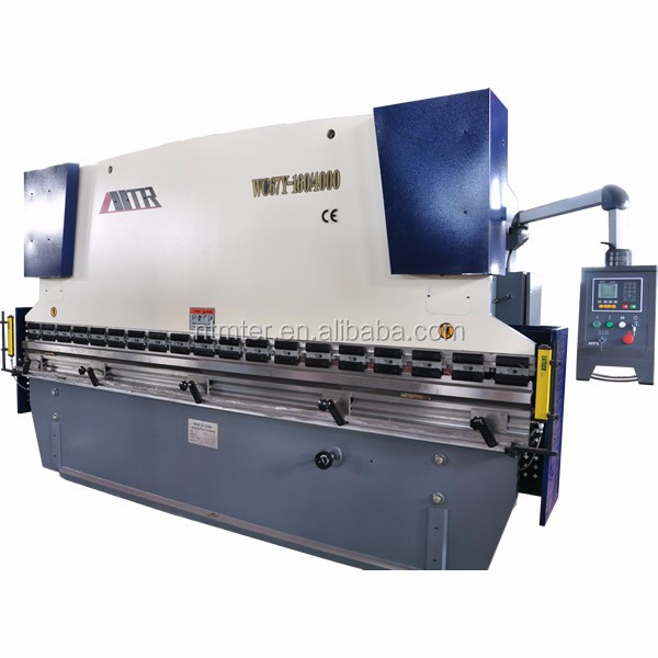 MTR WC67K-160X4000 stainless cnc hydraulic steel bending machine
