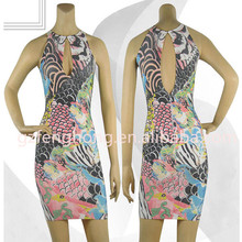 Embroidered evening dress bodycon bandage dress designer evening dress patterns 2014