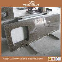 Price Per Meter of Natural Granite Tropic Brown Kitchen Countertop