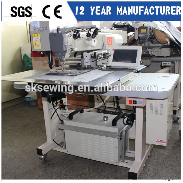 Industrial Automatic laser cutting Pocket welting Sewing Machine for pants