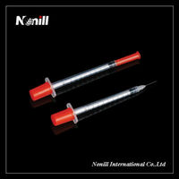 Disposable Medical Insulin Syringe For Diabetes Patient